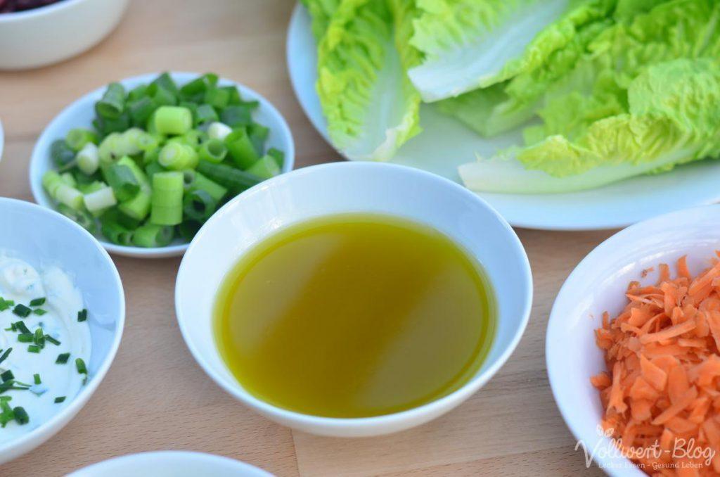 Honig-Senf-Öl-Dressing