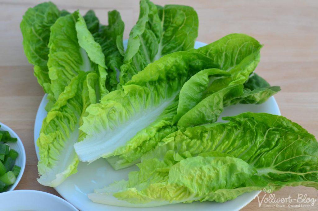 Romana Salatblätter