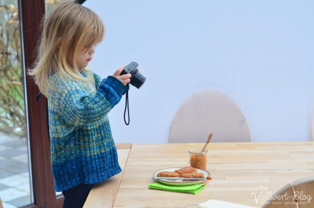 Unsere Tochter beim Fotografieren