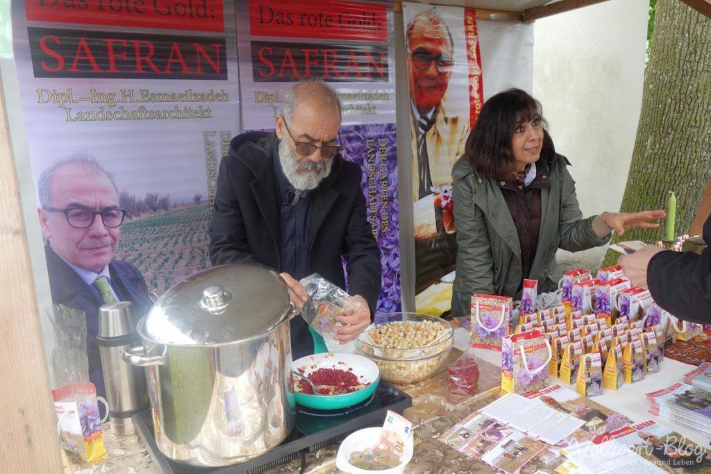 am Safran-Stand