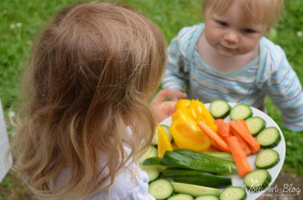 Gemüsestifte fürs Mittagessen