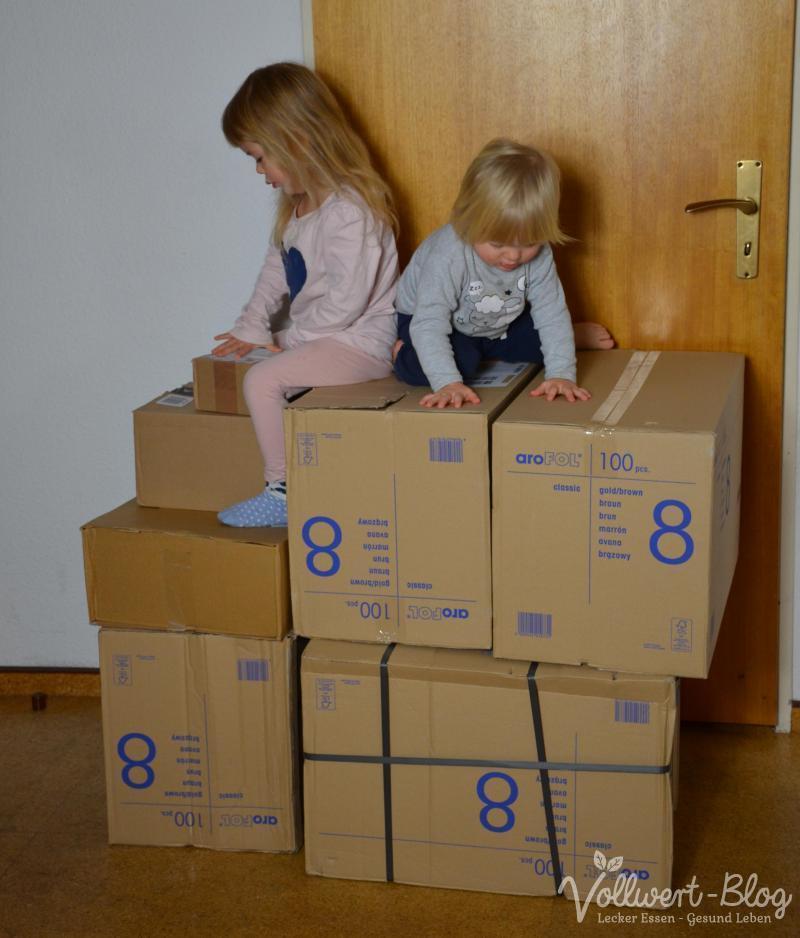 Pakete-Klettergerüst