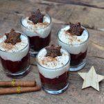 Vollwertiges Weihnachts-Dessert mit Lebkuchen