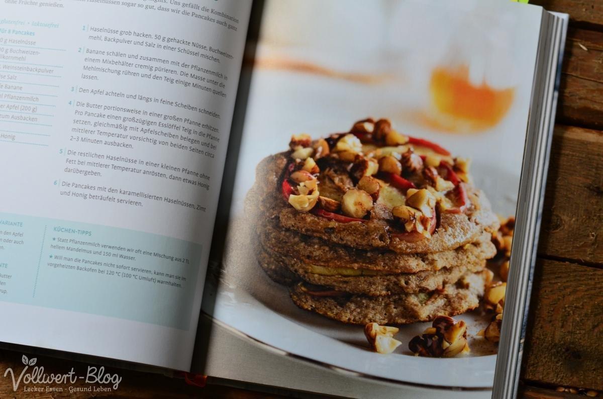 Buchweizen-Bananen-Pancakes
