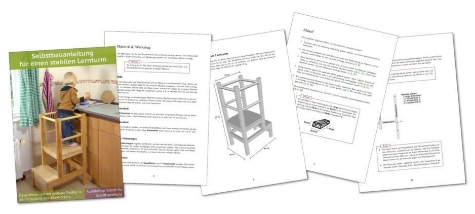 Lernturm-Anleitung