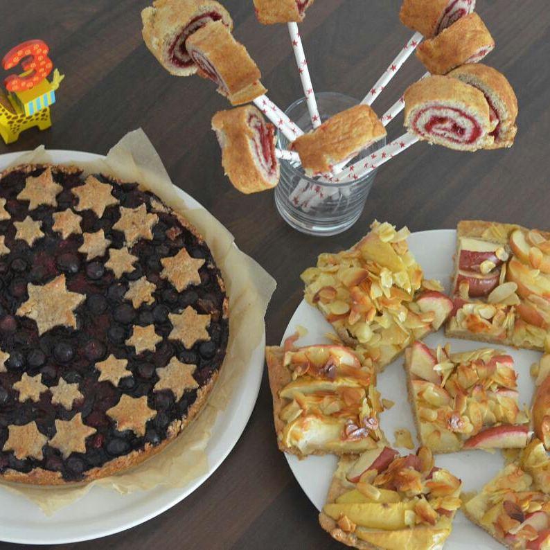 Vollwertige Kuchen zum 3. Geburtstag