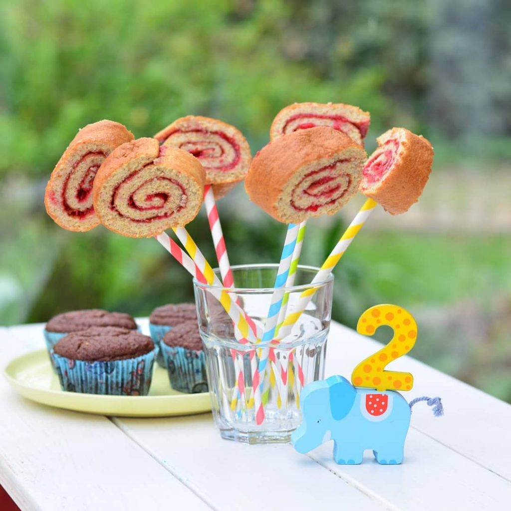 Vollwertige Kuchen zum 2. Geburtstag
