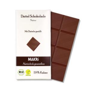 Vollwertige Schokolade von Makri