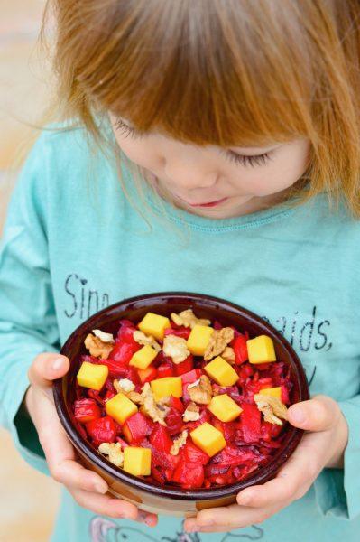 Rote-Bete-Mango-Salat